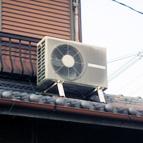室外機(屋根置き)