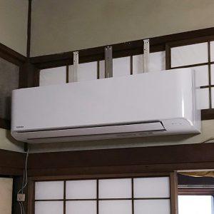 福岡県福岡市業務用エアコン取り付け工事