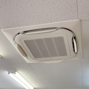 大阪府大阪市東成区の業務用エアコン入れ替え工事