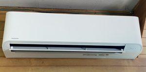 神奈川県相模原市の業務用エアコン取り付け工事写真